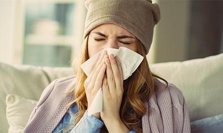 Fit durch die Grippejahreszeit